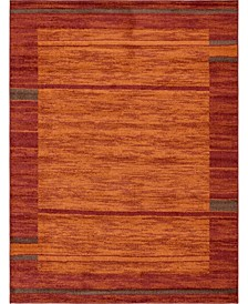 Jasia Jas11 Terracotta Area Rug Collection