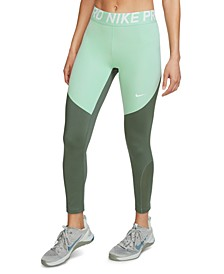 Women's Pro Mesh-Trimmed Leggings