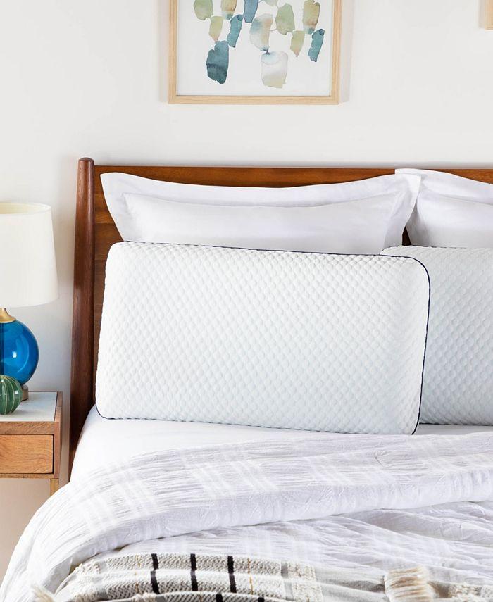 Linenspa - Signature CollectionAlwaysCool Gel Memory Foam Pillow, Standard