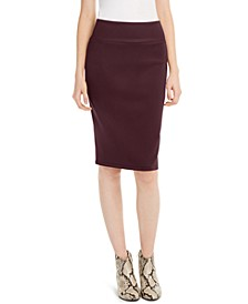 INC Solid Scuba Pencil Skirt, Created for Macy's