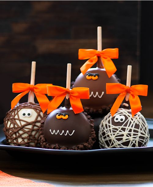 Mrs. Prindables 4-Pc. Fearsome Foursome Caramel Apple Gift