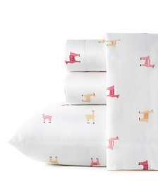Poppy & Fritz Miss Llama Twin Sheet Set