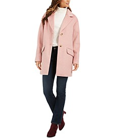 Notched-Collar Coat, Created For Macy's