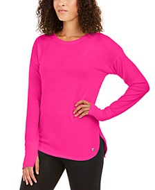 Heathered Long Sleeve Top, Created for Macy's