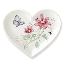 Lenox Butterfly Meadow Heart Dish, Macy's Exclusive