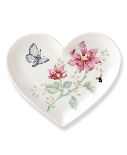 Lenox Butterfly Meadow Heart Dish, Macy's Exclusive
