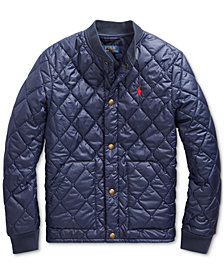 Polo Ralph Lauren Big Boys Quilted Water-Repellent Jacket