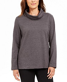 Sport Cowl-Neck Top, Created for Macy's