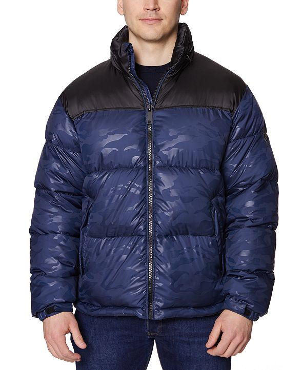 Halifax Men's Colorblocked Puffer Jacket