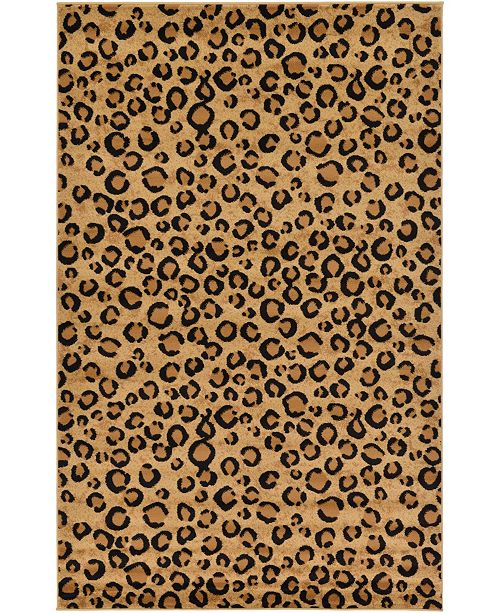 Bridgeport Home Maasai Mss2 Light Brown Area Rug Collection