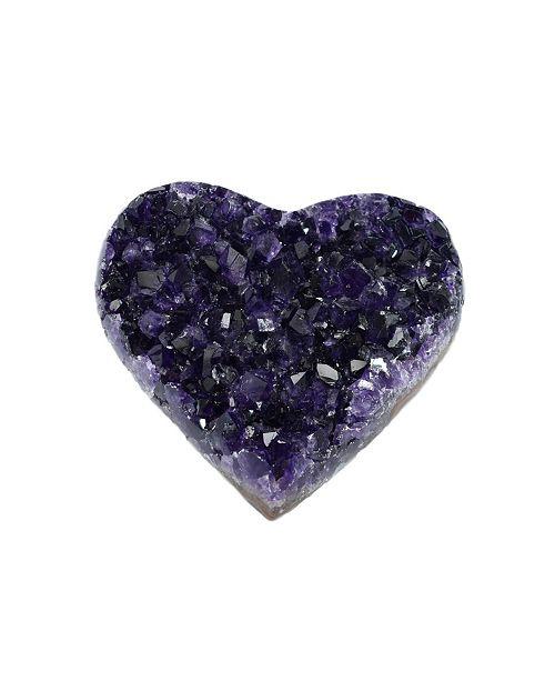 Nature's Decorations - Medium Amethyst Heart
