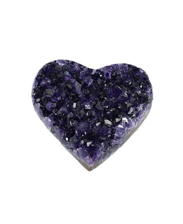 Nature's Decorations - Medium Amethyst Heart