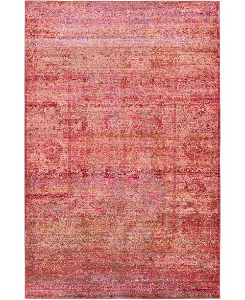 Bridgeport Home Malin Mal8 Red Area Rug Collection