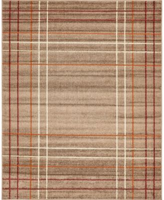 Jasia Jas13 Light Brown 2' x 3' Area Rug