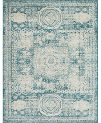 Mobley Mob2 Turquoise 8' x 10' Area Rug