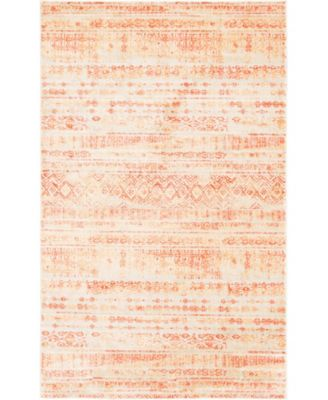 Haven Hav2 Orange 9' x 12' Area Rug