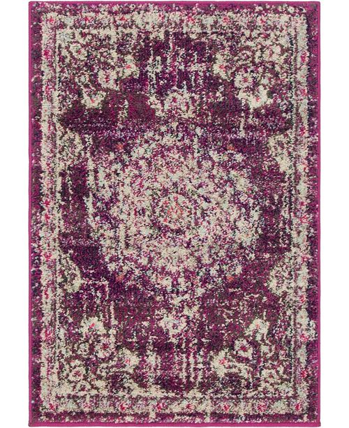 Bridgeport Home Lorem Lor1 Purple Area Rug Collection