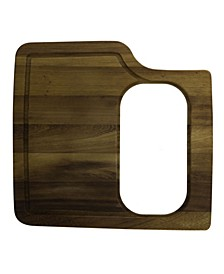 Rectangular 2 Piece Wood Cutting Board With Hole