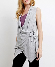 Womens Light Weight Wrap Vest