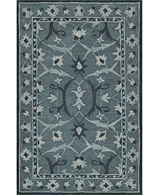 Torrey Tor6 Slate Area Rugs Collection