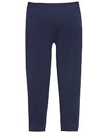 Epic Threads Little Girls Knit Sweater Leggings, Created For Macy's