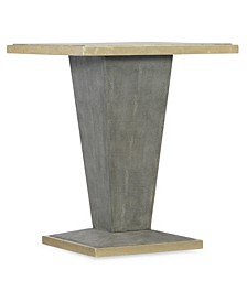 Sparrow Square Shagreen End Table