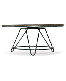 Paisley Round Cocktail Table