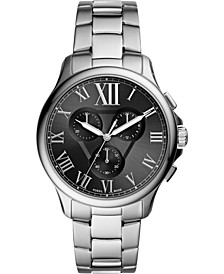 Men's Chronograph Monty Stainless Steel Bracelet Watch 42mm