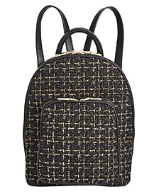 INC Farahh Boucle Backpack, Created For Macy's