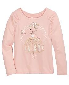 Epic Threads Toddler Girls Ballerina T-Shirt, Created For Macy's