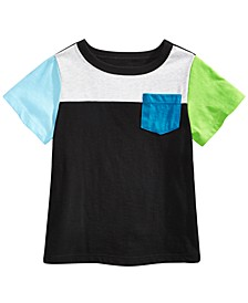 Toddler Boys Colorblocked Pocket T-Shirt, Created For Macy's