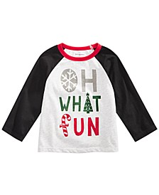 Toddler Boys What Fun-Print T-Shirt, Created For Macy's