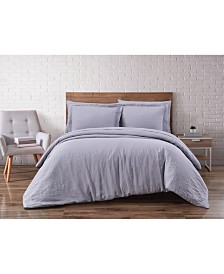 Linen 3-Piece Duvet Set - King