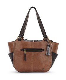 Kendra Leather Satchel