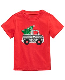 Baby Boys Holiday Haul T-Shirt, Created For Macy's