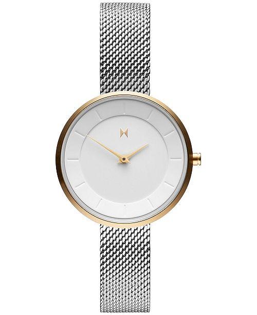 MVMT Women's MOD M4 Stainless Steel Mesh Bracelet Watch 32mm