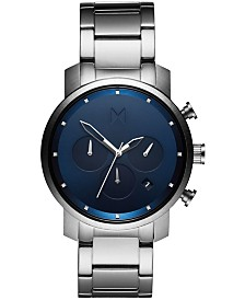 MVMT Men's Chrono Stainless Steel Bracelet Watch 40mm