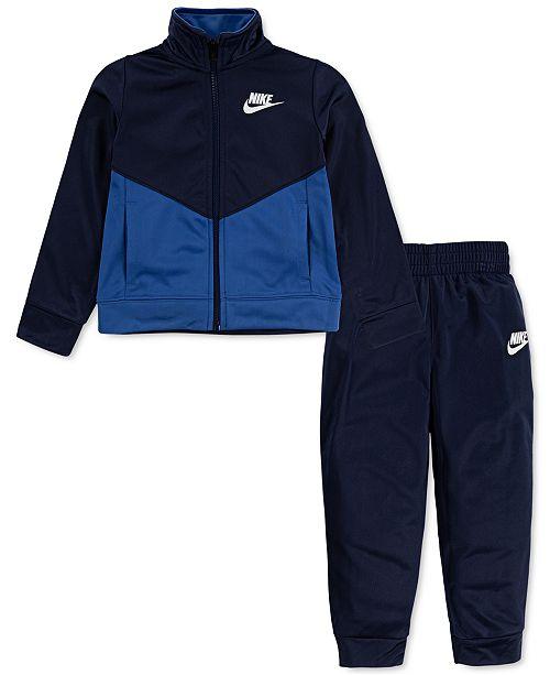 Nike Toddler Boys 2-Pc. Colorblocked Jacket & Jogger Pants Set