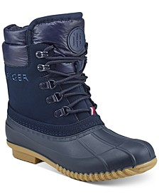 Women's Muddy Cold-Weather Boots