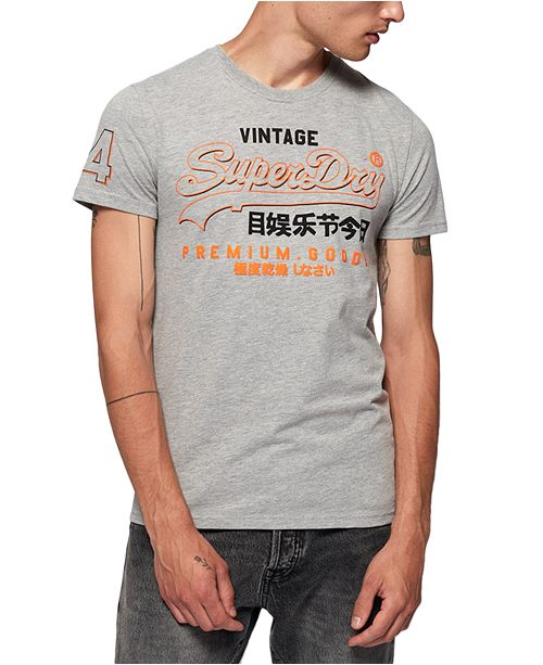 Superdry Men's Premium Goods Outline T-Shirt