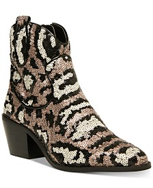 Betsey Johnson Lucki Western Booties