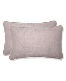 Sunbrella Chartres Rose Rectangular Throw Pillow, Set of 2