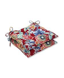 Colsen Berry Wrought Iron Seat Cushion, Set of 2
