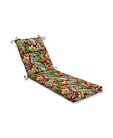 Beachcrest Poppy Chaise Lounge Cushion