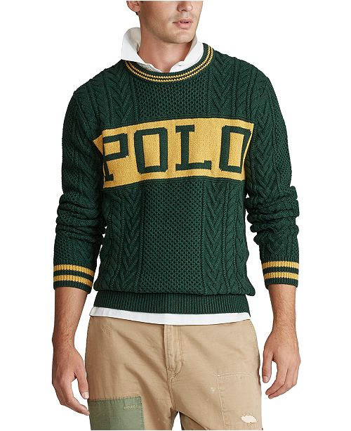 Polo Ralph Lauren Men's Cotton Long Sleeve Sweater