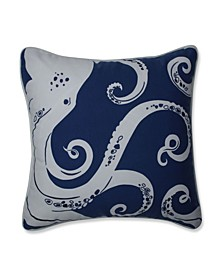 Ollie Octopus Throw Pillow
