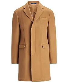 Polo Ralph Lauren Men's Polo Soft Wool-Blend Topcoat
