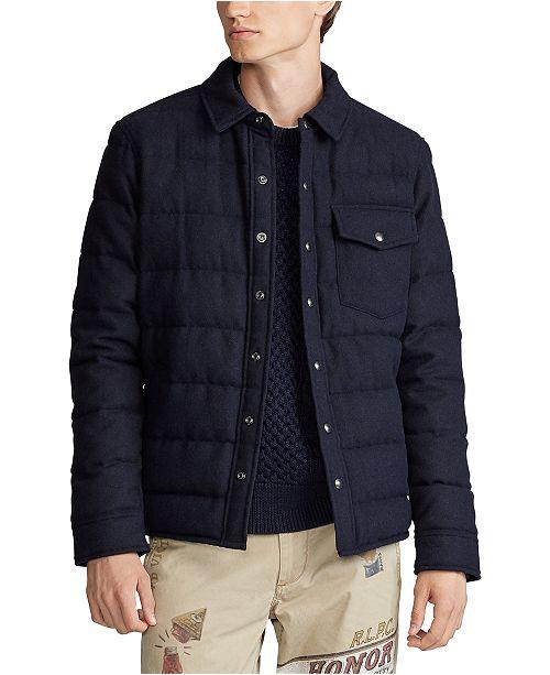 Polo Ralph Lauren Men's Navy Twill Jacket