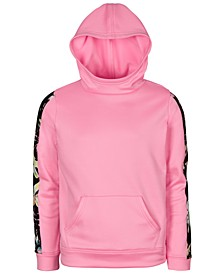 Big Girls Fleece Tape-Trim Hoodie, Created For Macy's