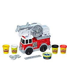 CLOSEOUT! Wheels Firetruck Toy with 5 Non-Toxic Colors Including Play-Doh Water Compound